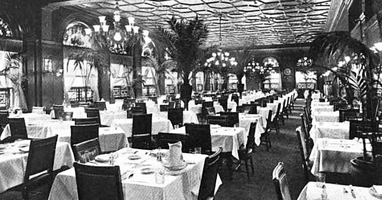 Young's Hotel Dining Room - Site of many early HOS Meetings
